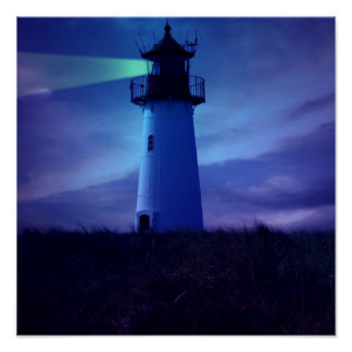Lighthouse Beacon Poster