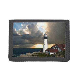 Lighthouse Beacon Tri-fold Wallet