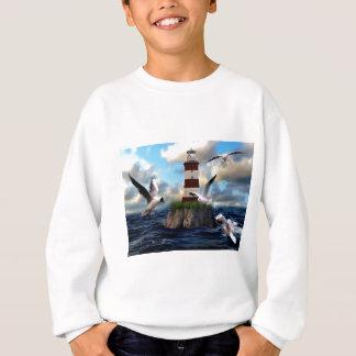 Lighthouse Birds Flying Sweatshirt