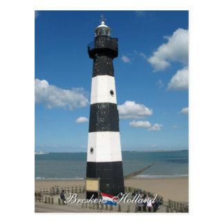Lighthouse Breskens Holland Postcard