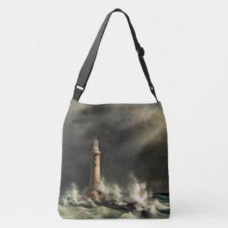 Lighthouse Coast Ocean Beacon Sea Tote Bag