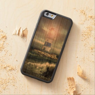 Lighthouse covering carved cherry iPhone 6 bumper case
