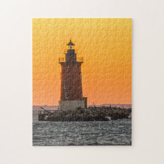 Lighthouse Delaware. Jigsaw Puzzle