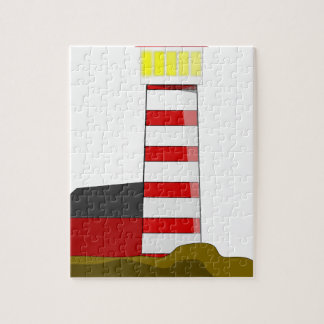 Lighthouse Drawing Jigsaw Puzzle
