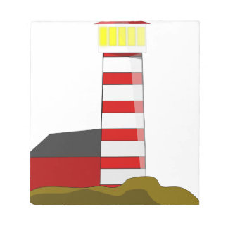 Lighthouse Drawing Notepad