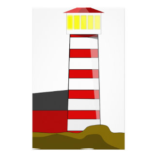 Lighthouse Drawing Stationery