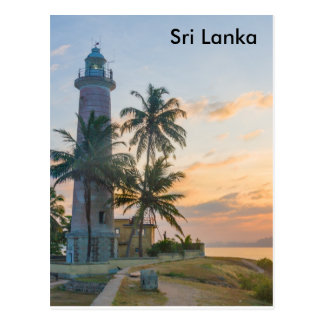 Lighthouse, Galle, Sri Lanka Postcard