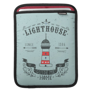 Lighthouse Guide Me Home Poster iPad Sleeve