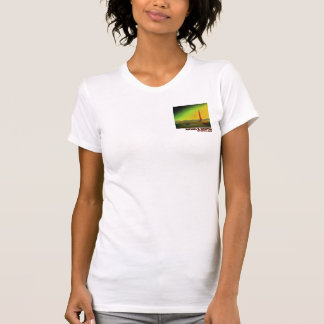 Lighthouse in a Barren Landscape T-Shirt