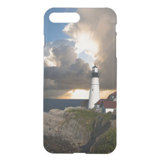 Lighthouse in a Storm iPhone 7 Plus Case