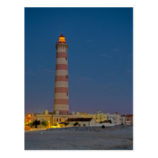 Lighthouse in Aveiro, Portugal Postcard