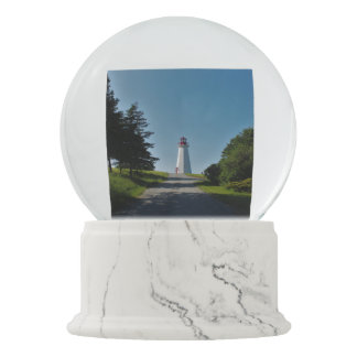 Lighthouse in Cape George Snow Globe