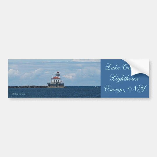 lighthouse in Lake Ontario, Lake Ontario Lighth... Bumper Sticker