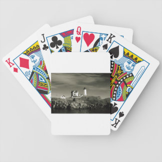 Lighthouse in Maine Bicycle Playing Cards