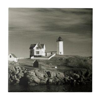 Lighthouse in Maine Ceramic Tiles