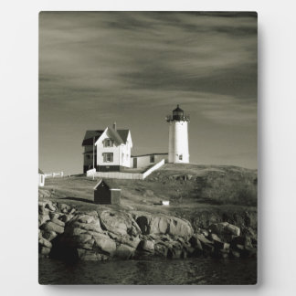 Lighthouse in Maine Plaque
