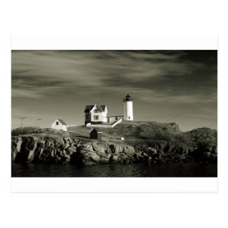 Lighthouse in Maine Postcard