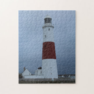 Lighthouse in Southern England Jigsaw Puzzle