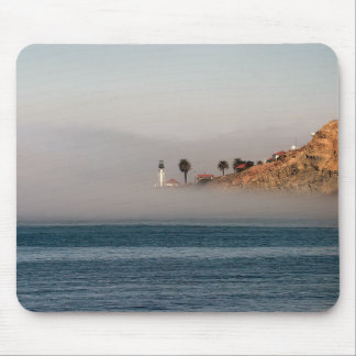 Lighthouse in the Fog Mousepad