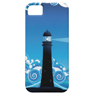 Lighthouse in the Sea 5 iPhone 5 Cover