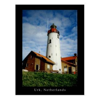 Lighthouse in Urk, Netherlands Postcard