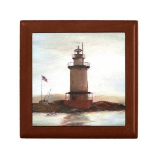Lighthouse Keepsake Memory Box for Dad