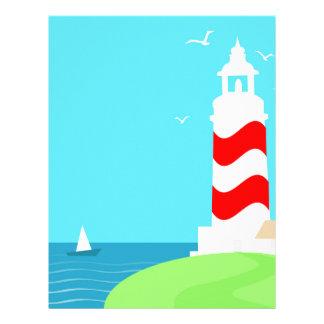 Lighthouse Letterhead