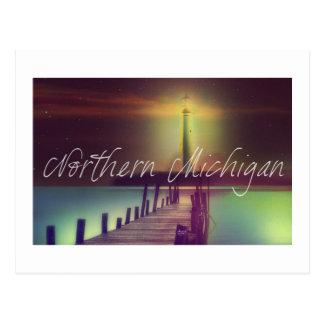 Lighthouse Michigan Postcard