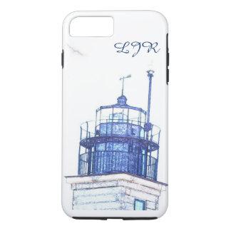 Lighthouse monogram phone cases
