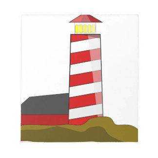 Lighthouse Notepad