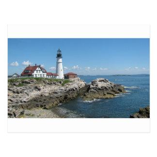 Lighthouse Of Bar Harbor Postcard