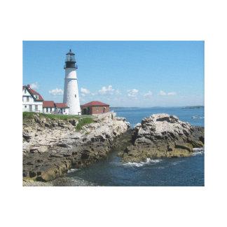 Lighthouse of Maine Canvas Print