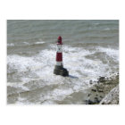 Lighthouse off Beachy Head, East Sussex Postcard