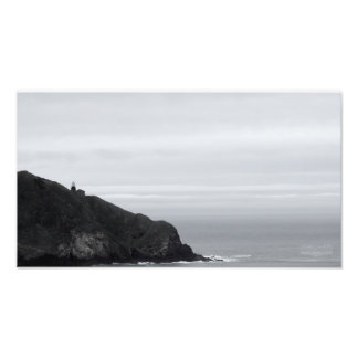 Lighthouse on a Hill Photo Print