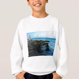 Lighthouse on a Mexican Beach Sweatshirt