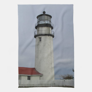Lighthouse on Cape Cod Kitchen Towel