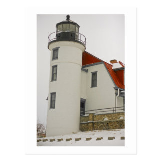 Lighthouse on Lake Michigan Postcard