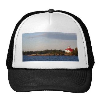 Lighthouse on Shoal Island Trucker Hat