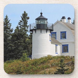 Lighthouse on the Coast of Maine Coaster