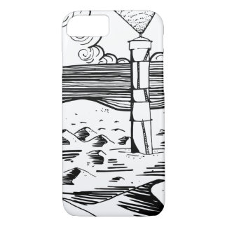 Lighthouse on the Dunes Case-Mate iPhone Case