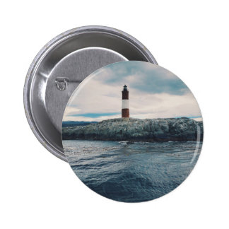 Lighthouse on the Shore 2 Inch Round Button