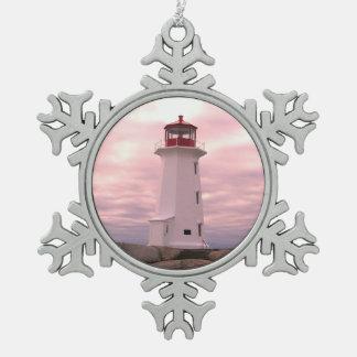 Lighthouse ornament Peggy's Cove Nova Scotia