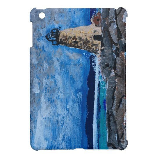 Lighthouse Painting iPad Mini Case