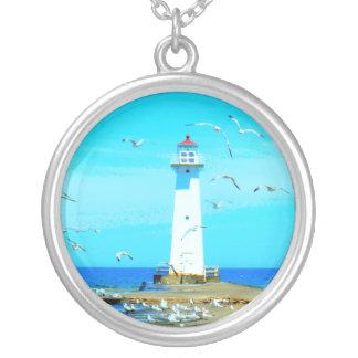 Lighthouse Pendant Necklace