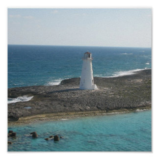 Lighthouse Photo Poster Print