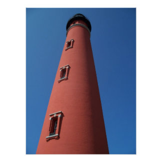 Lighthouse Ponce Inlet Daytona Beach Florida Photo Poster