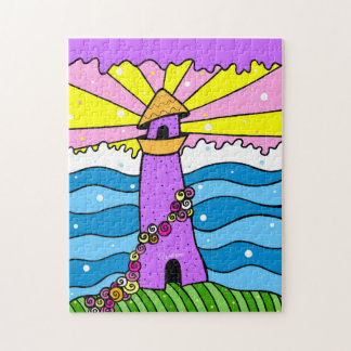 Lighthouse Pop Art Puzzle