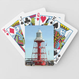 Lighthouse, Port Adelaide, Australia Bicycle Playing Cards