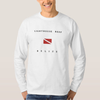 Lighthouse Reef Belize Scuba Dive Flag T-Shirt