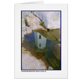 Lighthouse Reflection Card